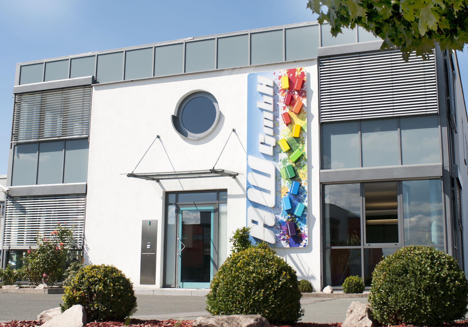 Eingang Verwaltung AW GmbH